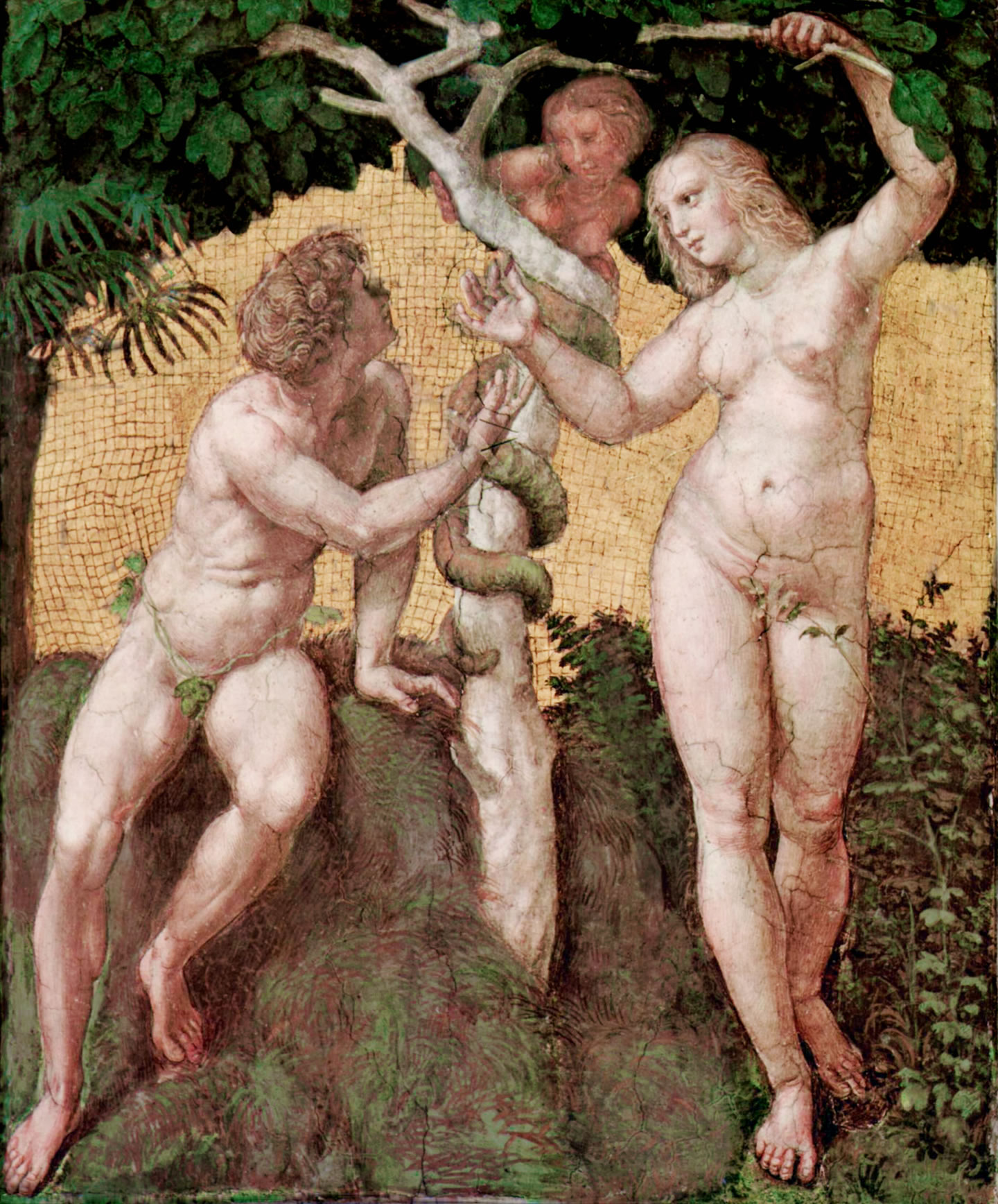 Adam and Eve (and the love triangle in Eden)